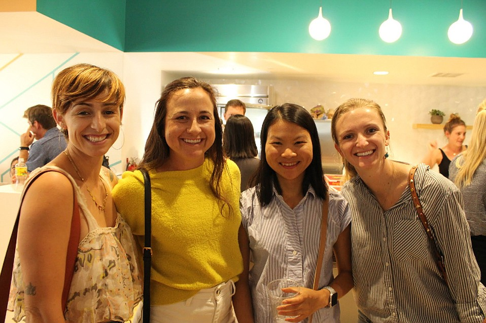Dozens of women networked and met mentors during the last SBWiSTEM event.