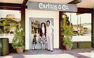Carlos and Leslie Lopez when they opened Carlitos