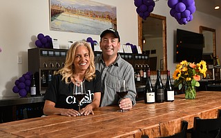 Michael and Lisa Amador are combining snazzy technology with small-batch wines at Crush Tasting Room and Kitchen.