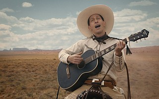 Tim Blake Nelson as Buster Scruggs