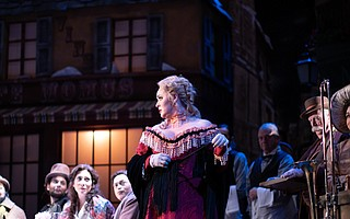 Puccini's classic opera played out on the Granada stage.