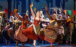 Kaitlyn Mayse stars in the titular role of Rodgers and Hammerstein's <em>Cinderella</em>.