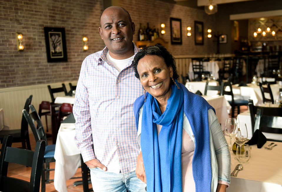 Mollie Ahlstrand left Ethiopia so that her son, Ali, could have a better life. Along the way, she learned cooking in Italy and ran Trattoria Mollie in Montecito for a quarter century. Today, Mollie and Ali work together at Mollie's on State Street.