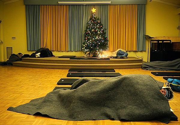 Warming center at Unitarian Society