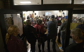 It was an standing-room-only crowd at the tiny homes community meeting Wednesday night, where attendees learned the project received one third the monies requested.