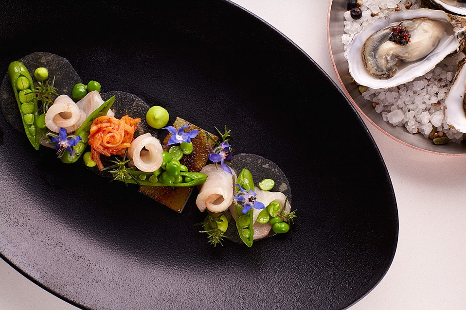 Blackbird's ever-evolving menu features colorful and creative dishes that morph gradually with the seasons.