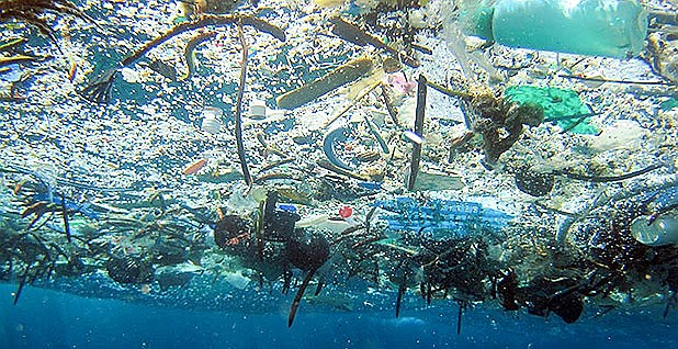 Approximately 90.5 percent of the plastics ever made have never been recycled.