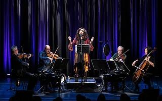Kronos Quartet & Masha Vadat at Campbell Hall, UCSB
