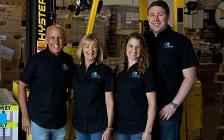 David Noll (far left) and his family, including, from left, wife Linda Noll, daughter Kristy Oakley, and son-in-law Dominic Oakley, bring the pure products of New Zealand to health-conscious, or just flavor-conscious, Americans.