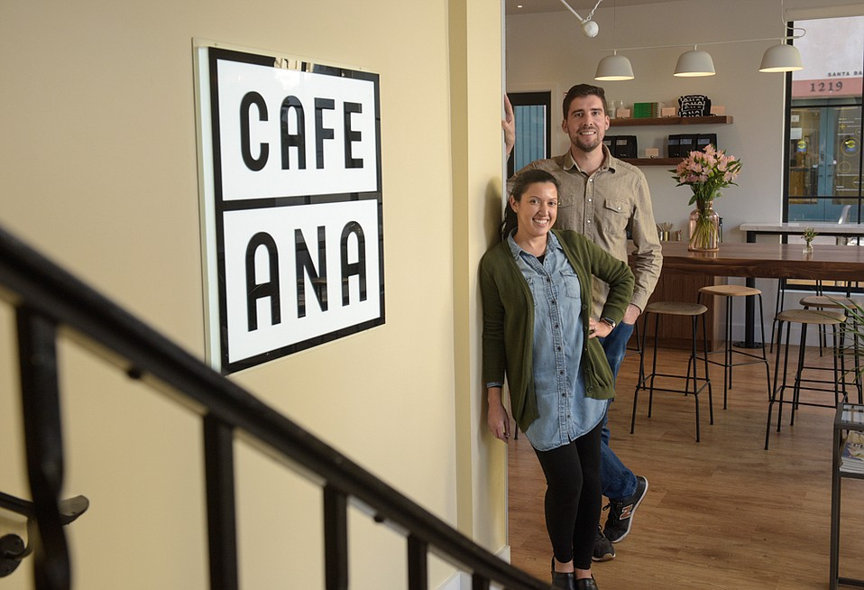 Katherine Guzman Sanders and Julian Sanders spent two years renovating the old Coffee Cat into Café Ana, which is now serving gourmet toasts and many other breakfast, lunch, and dinner options, crafted by Chef Ryan Whyte-Buck.