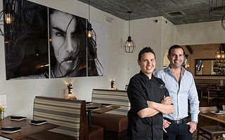 Vicenta's Chef Jonathan Ruiz (left) and owner Carlos Luna are now serving modern spins on traditional Mexican food in Goleta, under a name that honors the strong women in their lives.
