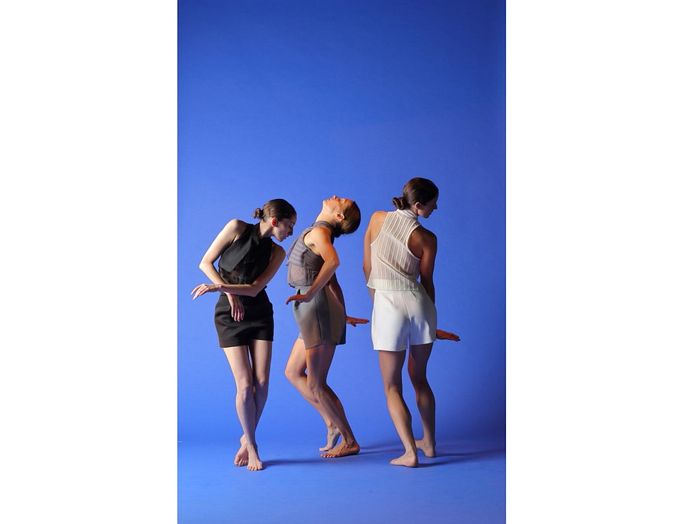 """Natalie McCall, Robin Wilson, and Nicole Powell in  """"The Grey Area."""""""
