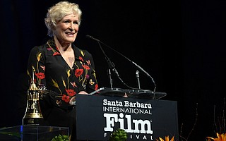 Glenn Close receives SBIFF Maltin Modern Master Award at the Arlington Theater