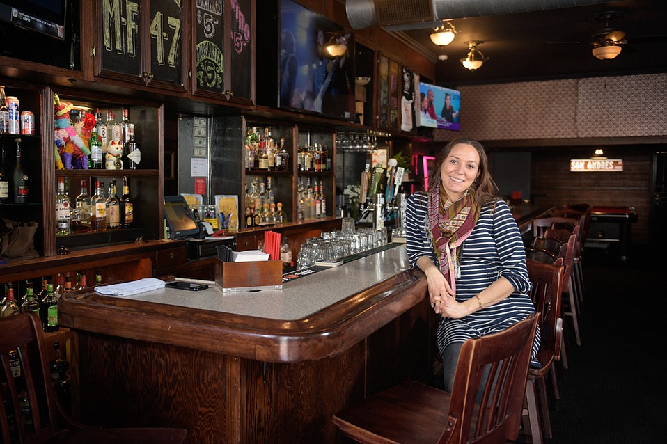 """""""We're bringing people together,"""" said Tanya Tully of her bar on San Andres Street. """"Booze might be the shared interest, but they come from totally different walks of life."""""""