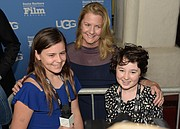 Mimi deGruy interviewed by SB Middle School Teen Press on the red carpet at the 2019 SBIFF opening night.