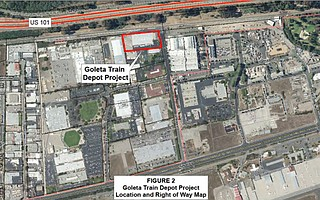 Goleta's train station-to-be — in the design stage for amenities like bathrooms and a cafe — is at the end of South La Patera Road across from the existing Amtrak platform.