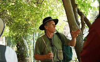 Christopher Nyerges has led wilderness classes since 1974.