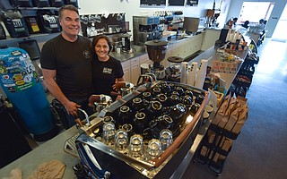 Tim and Rachel Ward are filling the java gap in Old Town Goleta with their bustling coffee shop.