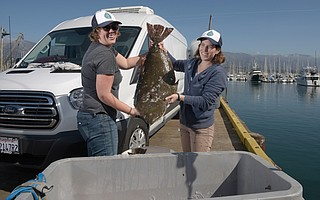 Get Hooked's Victoria Voss (left) and Kim Selkoe deliver sustainable seafood to Santa Barbara.