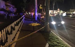 Homeless death on Castillo Street Jan. 5, 2015