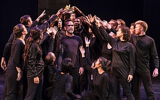 A 90-minute version of Irwin Appel's <em>The Death of Kings</em> comes to UCSB this weekend.