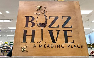 The Buzz Hive is a poppin' grocery store bar in Whole Foods.