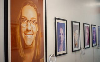 MOXI is hosting a portrait show of women in science and projects by the Dos Pueblos Engineering Academy.