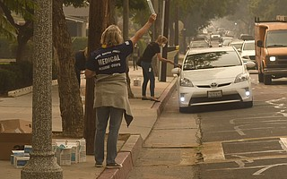 The horrible air quality in Santa Barbara during the Thomas Fire required face masks, which were widely distributed, and hotel visitation dropped. The hotel bed tax has recovered December 2017's losses so far in the current fiscal year.