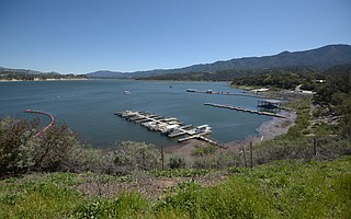 As of Tuesday, Lake Cachuma contained 75.4 percent of its maximum volume, prompting the County Board of Supervisors to end the drought emergency, though concerns about water remain.